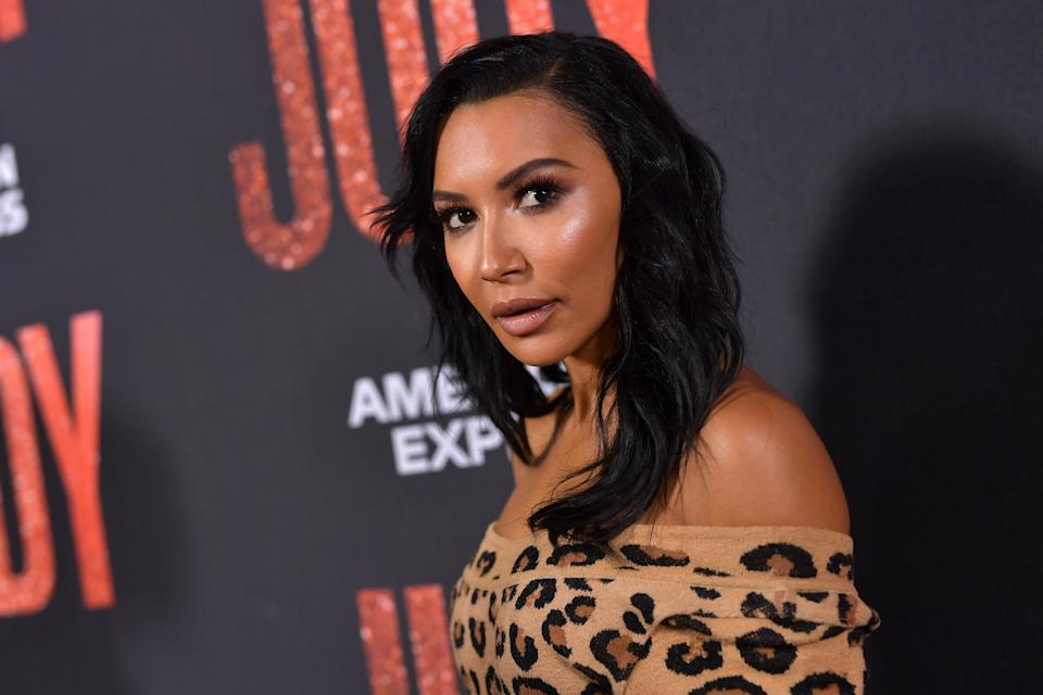 """BEVERLY HILLS, CALIFORNIA - SEPTEMBER 19: Naya Rivera attends the LA premiere of Roadside Attraction's """"Judy"""" at Samuel Goldwyn Theater on September 19, 2019 in Beverly Hills, California. (Photo by Emma McIntyre/Getty Images)"""