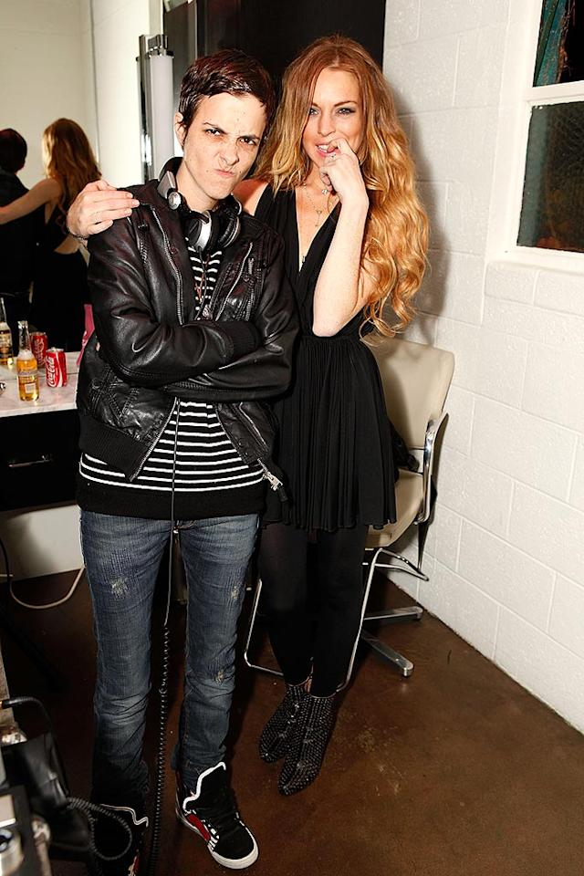 """The strawberry blonde surprised everyone when she started dating DJ Samantha Ronson. After 16 months of a dramatic, public romance, the couple called it quits. While Lindsay claimed they were taking a break so she could focus on her career, Sam said she simply couldn't take the paparazzi anymore. """"To be honest, being with her was more of a headache than anything else,"""" Ronson told <i>The Times</i> magazine. Jeff Vespa/<a href=""""http://www.wireimage.com"""" target=""""new"""">WireImage.com</a> - February 5, 2009"""