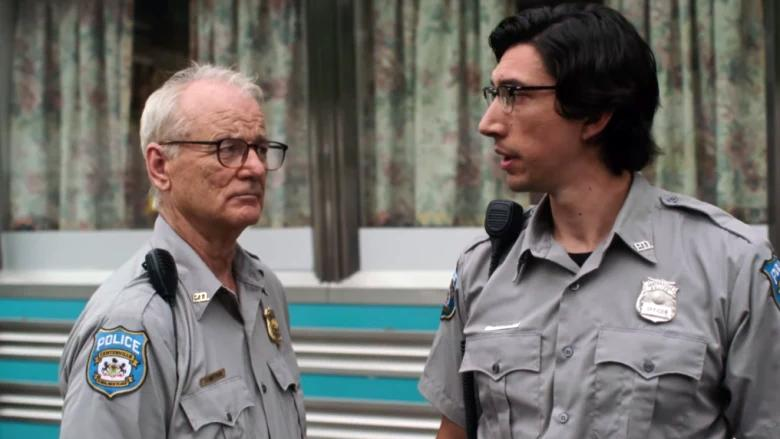 Bill Murray and Adam Driver in The Dead Don't Die (Credit: Focus Features)