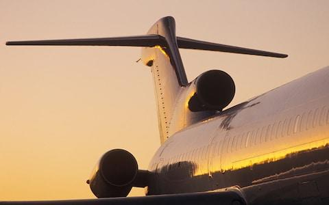 The 727 was Boeing's only plane with three engines - Credit: getty
