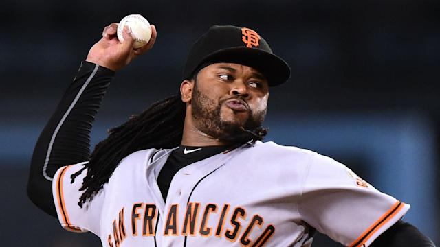 The Giants season has reached a critical point with Johnny Cueto's future uncertain. (AP)