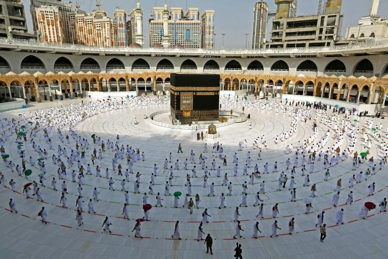 Only 10,000 residents of Saudi Arabia were allowed at the 2020 hajj; and the ban on foreign visitors has continued this year