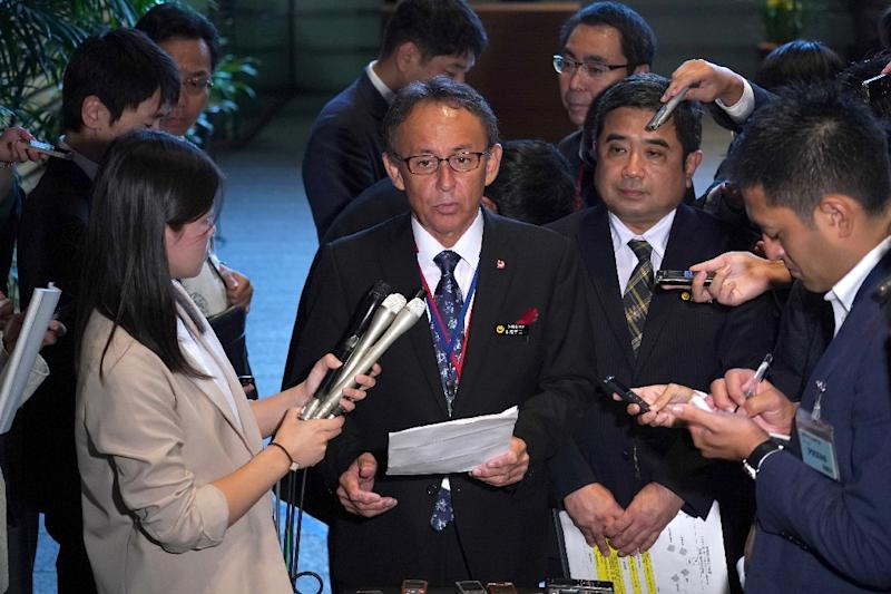 Okinawa Governor Denny Tamaki plans to raise the issue of US bases on a trip to America