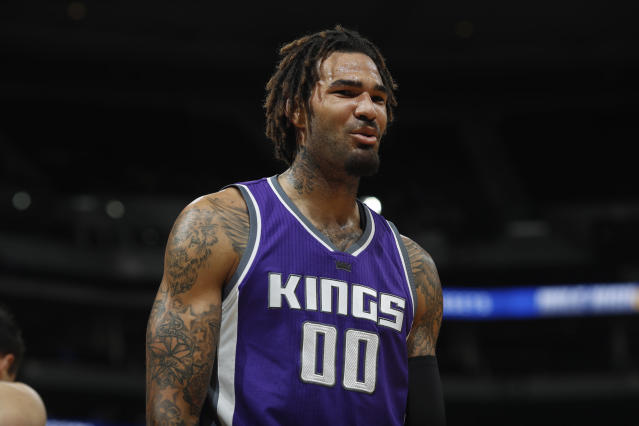 "<a class=""link rapid-noclick-resp"" href=""/nba/teams/sac/"" data-ylk=""slk:Sacramento Kings"">Sacramento Kings</a> center <a class=""link rapid-noclick-resp"" href=""/nba/players/5466/"" data-ylk=""slk:Willie Cauley-Stein"">Willie Cauley-Stein</a> proved to be a real fantasy asset down the stretch last season and could ready for more. (AP Photo/David Zalubowski)"