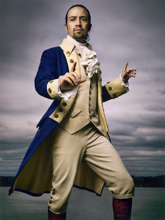 """Lin-Manuel Miranda, photographed on May 5, 2016, in New York, for the June 2016 issue of Rolling Stone. The work is in the permanent collection of the Smithsonian's National Portrait Gallery. <span class=""""copyright"""">(Mark Seliger )</span>"""