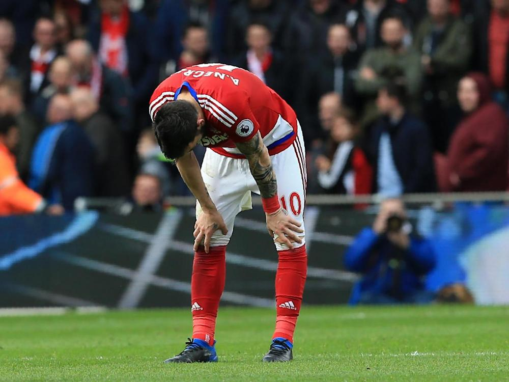 Middlesbrough will have it all to do if they lose this weekend (Getty)