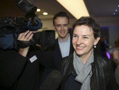 FILE PHOTO: Prospective Labour leader Mary Creagh arrives at the annual conference of independent organisations for Labour Party members and trade unionists, London, May 16, 2015. REUTERS/Paul Hackett