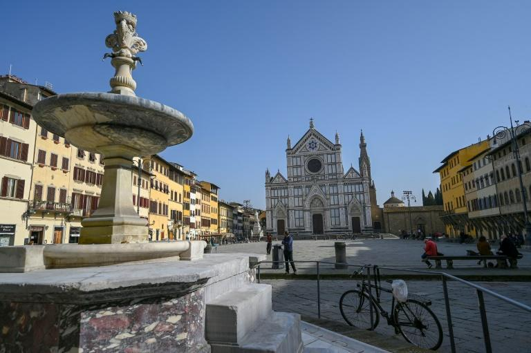 Dante was born in Florence in 1265 but exiled in 1302 (AFP/Vincenzo PINTO)
