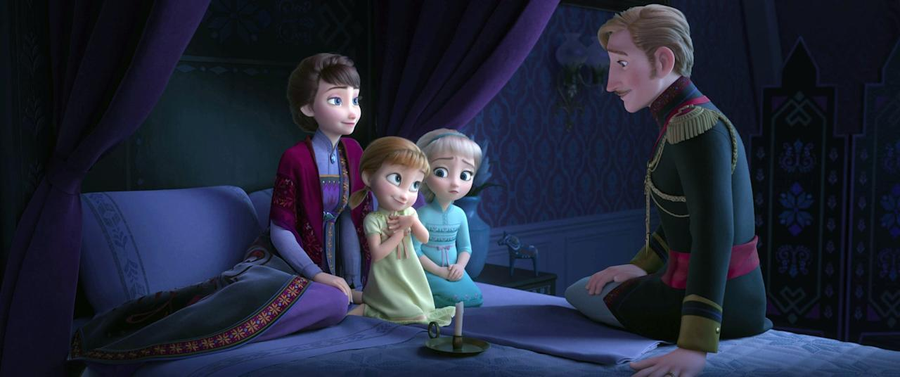 """<p> King Agnarr's appearance is short in the first movie (we get more of his story in <strong>Frozen 2</strong>), but it is enough for us to understand he is a loving, kind, and caring dad. In the novel <strong>A Frozen Heart</strong>, it's said Agnarr spoils his daughters Elsa and Anna, and has a hard time punishing them when they misbehave. He is petrified of magic, which causes him to make some questionable parenting decisions to protect his daughters. </p> <p><strong> Best line: </strong>""""No! We'll protect her. She can learn to control it, I'm sure. Until then, we'll lock the gates. We'll reduce the staff. We will limit her contact with people and keep her powers hidden from everyone . . . including Anna.""""</p>"""