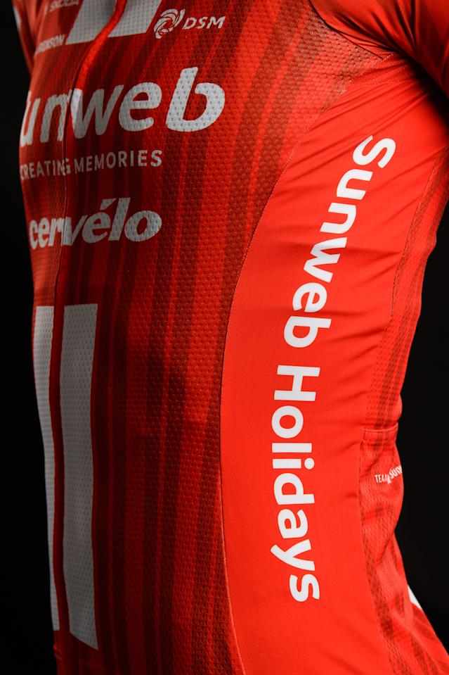 Sunweb aslo have space on the flanks