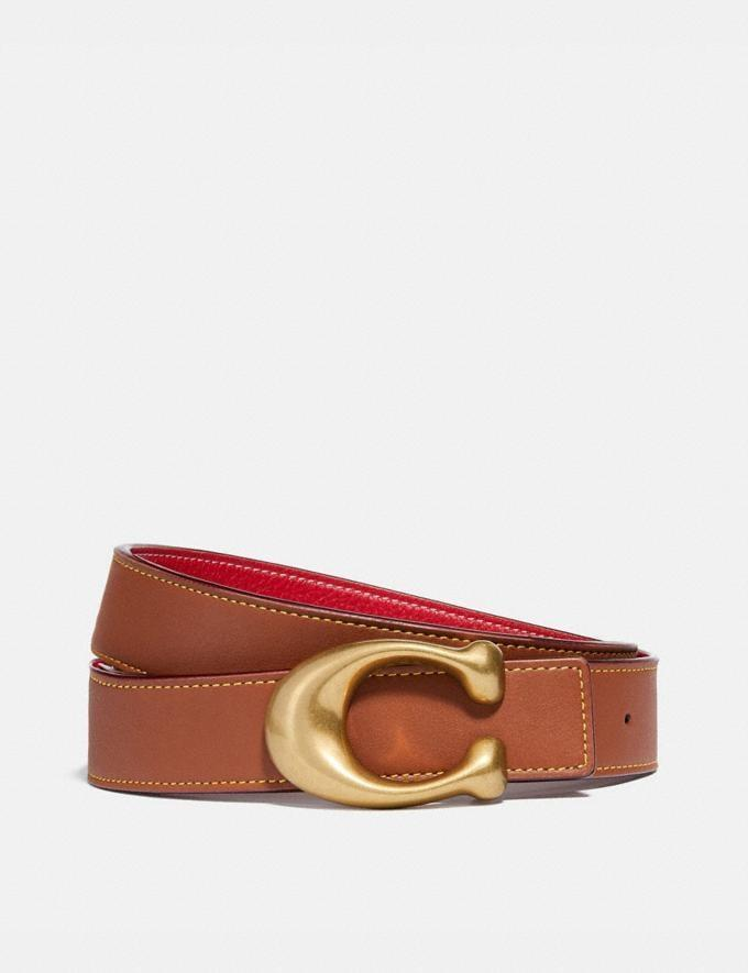 <p>Tie this modern <span>Signature Buckle Reversible Belt</span> ($150) around the waist of a blazer or through the loops of your favorite jeans.</p>