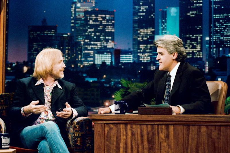 "During an interview on ""The Tonight Show with Jay Leno"" on Aug. 5, 1996."