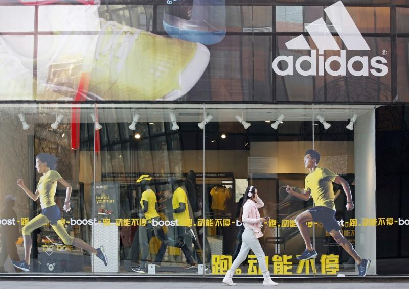 Adidas says China sales back to growth faster than expected