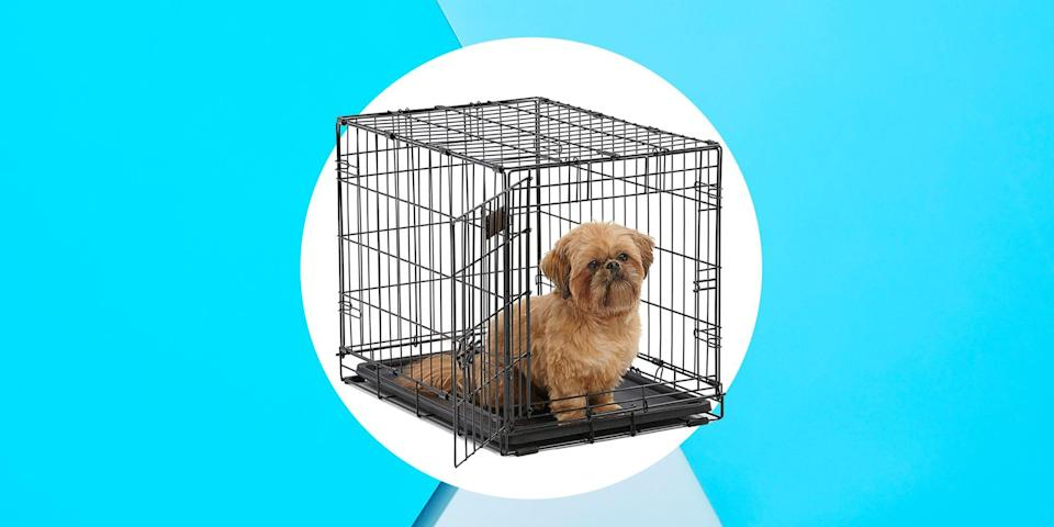 <p>A dog crate is to your pup what your bedroom is to you, a cozy place where they can relax and chill out, a.k.a. take really long naps. The easiest way to get your dog to love a new crate is to make sure it's comfortable for him or her. If you think it's time to update your furry BFF's crate situation, here are the best dog crates of 2020, according to countless customer reviews.<br></p>