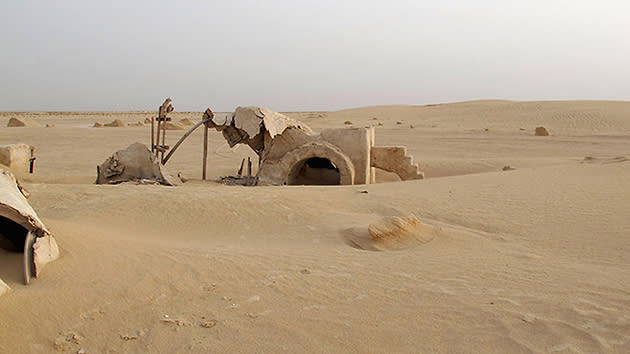 Tatooine from 'Star Wars'