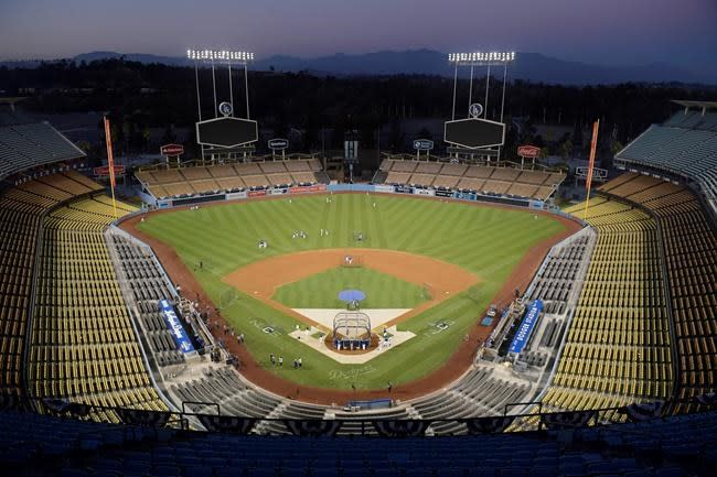 LA Dodgers transforming stadium into voting site for presidential election