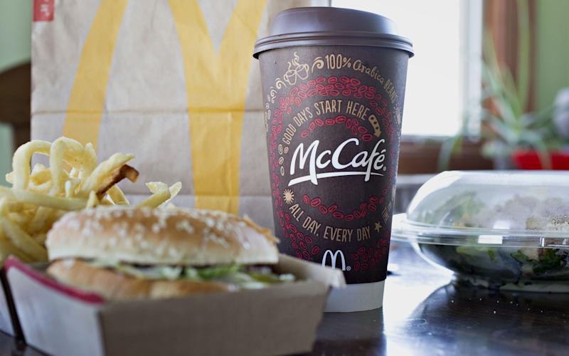 McDonald's has put more focus on selling coffee at its outlets - © 2016 Bloomberg Finance LP