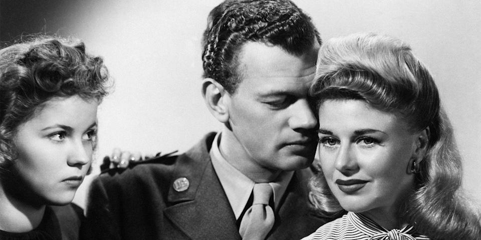 """<p>Ginger Rogers stars in David Selznick's classic, about a pair of lonely strangers who meet on a train and eventually fall in love: he, an army sergeant with PTSD; her, a woman serving a six-year prison sentence for accidental manslaughter out on Christmas parole. Comic relief much? Enter Shirley Temple.</p><p><em>Buy on amazon.com, $14 for DVD, $19 for Blu-Ray.</em> <a class=""""link rapid-noclick-resp"""" href=""""https://www.amazon.com/Ill-Be-Seeing-You-Blu-ray/dp/B075DSHPLK/?tag=syn-yahoo-20&ascsubtag=%5Bartid%7C10056.g.13149732%5Bsrc%7Cyahoo-us"""" rel=""""nofollow noopener"""" target=""""_blank"""" data-ylk=""""slk:SHOP"""">SHOP</a></p>"""