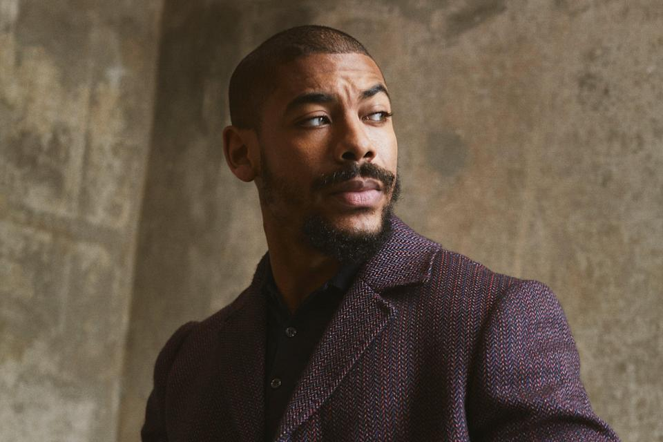 <p>Pierre was spotted by Jenkins while performing in Othello at the Globe</p> (David Reiss)