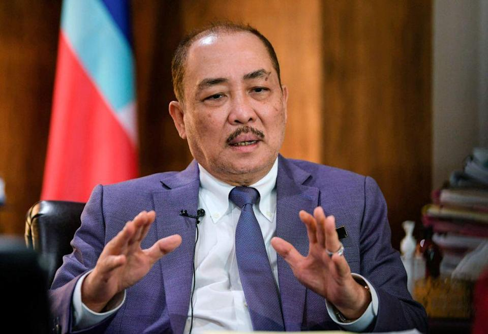 Sabah Chief Minister Datuk Hajiji Noor said that the various allocations and plans for Sabah in the recently tabled 12th Malaysian Plan were proof of Putrajaya's 'shared prosperity' promise with Sabah. — Bernama pic