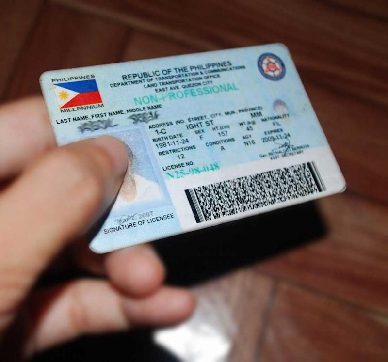 Month Next 5-year Driver's License Out