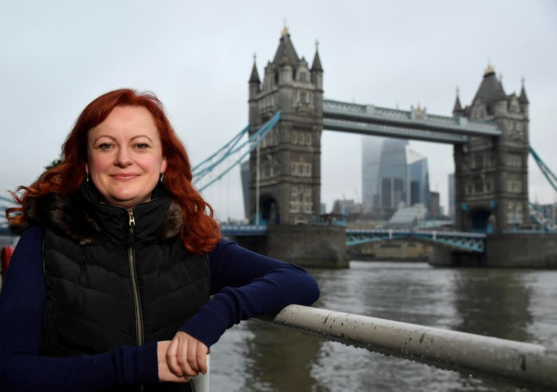 Townsend, co-founder of Futerra advertising firm, poses for a portrait in London