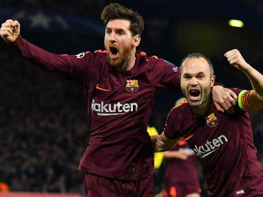 Lionel Messi struck for the first time in nine games against Chelsea to give Barcelona the upper hand from the first leg of their Champions League last-16 tie by salvaging a 1-1 draw.