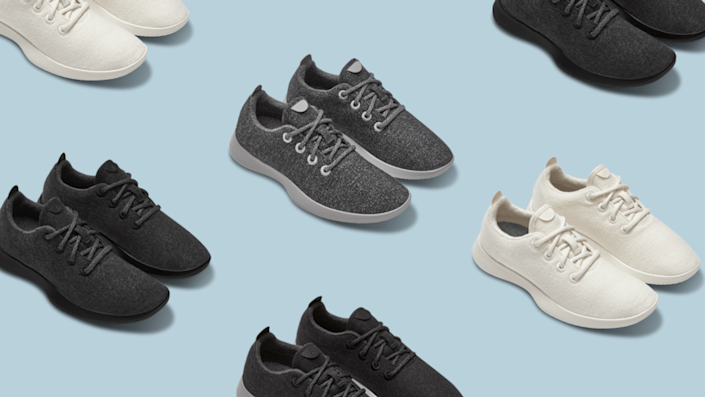 These comfortable sneakers are being donated to hospital workers.