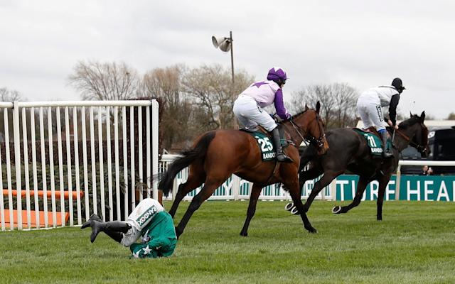 <span>Katie Walsh is unseated from Distime</span> <span>Credit: Reuters </span>