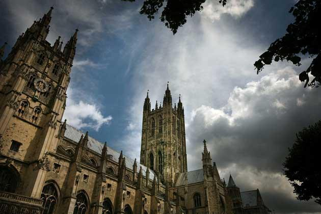 Canterbury Cathedral is a Unesco World Heritage SiteGetty