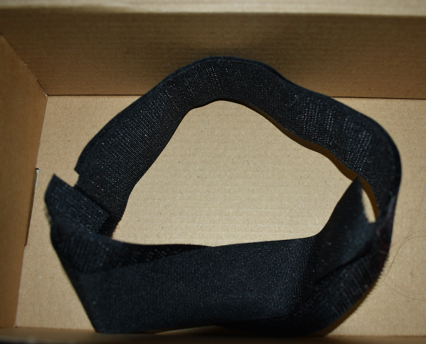 Police handout of velcro straps which were recovered from Wayne Couzens' car. (PA)