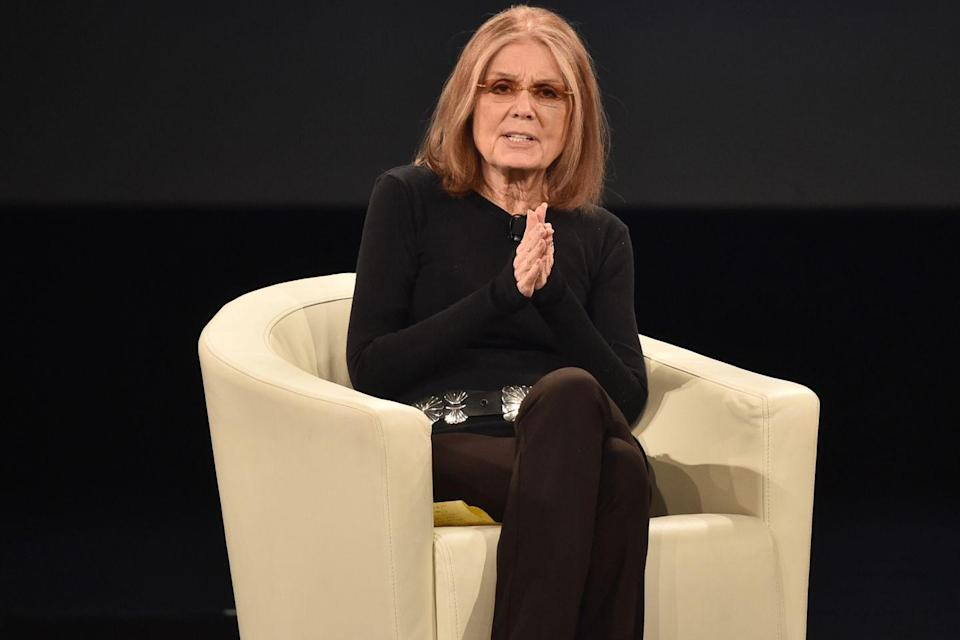 "<p>‪""Don't think about making women fit the world‬—‪think about making the world fit women.""‬<br><br>Gloria Steinem, from a roundtable discussion of gender relations at Yale University, February 2010</p>"