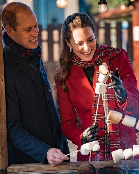 """<p>The royal couple has got us in the festive spirit with their trip to Cardiff on day two of their royal train tour.</p><p>During their visit, the Duchess toasted marshmallows much to her and Prince William's delight before discussing mental health with university students. </p><p><a href=""""https://www.instagram.com/p/CIiOi0yF9h9/?utm_source=ig_web_copy_link"""" rel=""""nofollow noopener"""" target=""""_blank"""" data-ylk=""""slk:See the original post on Instagram"""" class=""""link rapid-noclick-resp"""">See the original post on Instagram</a></p>"""