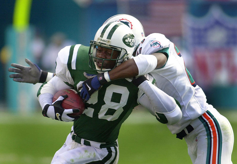 """Curtis Martin says the end of his Hall of Fame career didn't come as a shock and he was prepared for life after the NFL. """"If you allow football to define you, you'll be lost."""" (Getty Images)"""