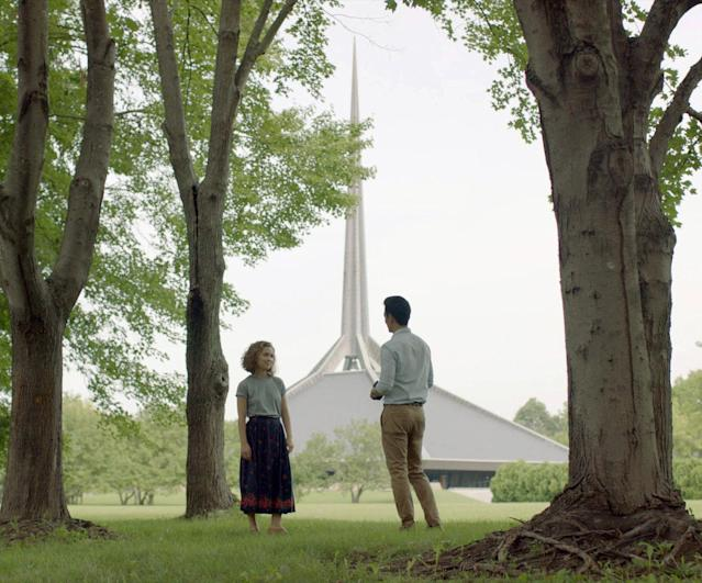 <p>A Korean-American man (John Cho) and a Caucasian woman (Haley Lu Richardson) strike up an unlikely friendship — developed through their conversations while visiting some of Columbus, Ind.'s many striking architectural marvels — in this contemplative drama about ambition, obligation, and the unexpected beauty lying beneath familiar surfaces. Making his feature debut, director Kogonada proves, with every gorgeously arranged visual composition, that he's a formidable new talent to watch. <em>— N.S. </em>(Photo: Everett Collection) </p>