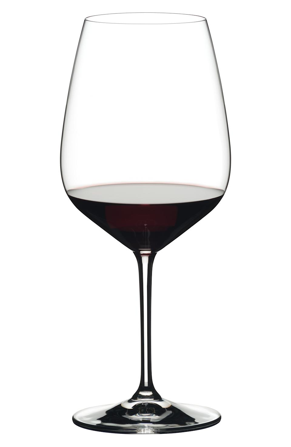 Mixed Pack of 4 Red Wine Glasses. Image via Nordstrom.