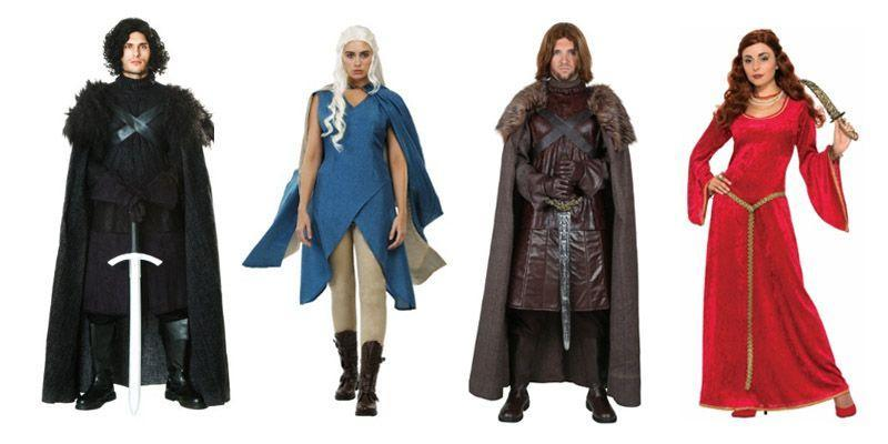 """<p>from $14.95 each </p><p><a class=""""link rapid-noclick-resp"""" href=""""https://www.amazon.com/s?k=game+of+thrones+costume&ref=nb_sb_noss_1&tag=syn-yahoo-20&ascsubtag=%5Bartid%7C2089.g.1733%5Bsrc%7Cyahoo-us"""" rel=""""nofollow noopener"""" target=""""_blank"""" data-ylk=""""slk:SHOP AMAZON"""">SHOP AMAZON</a> <a class=""""link rapid-noclick-resp"""" href=""""https://go.redirectingat.com?id=74968X1596630&url=https%3A%2F%2Fwww.halloweencostumes.com%2Fgame-of-thrones-costumes.html&sref=https%3A%2F%2Fwww.bestproducts.com%2Flifestyle%2Fnews%2Fg1733%2Fgroup-halloween-costumes%2F"""" rel=""""nofollow noopener"""" target=""""_blank"""" data-ylk=""""slk:SHOP HALLOWEENCOSTUMES.COM""""><strong>SHOP HALLOWEENCOSTUMES.COM</strong></a><br></p>"""