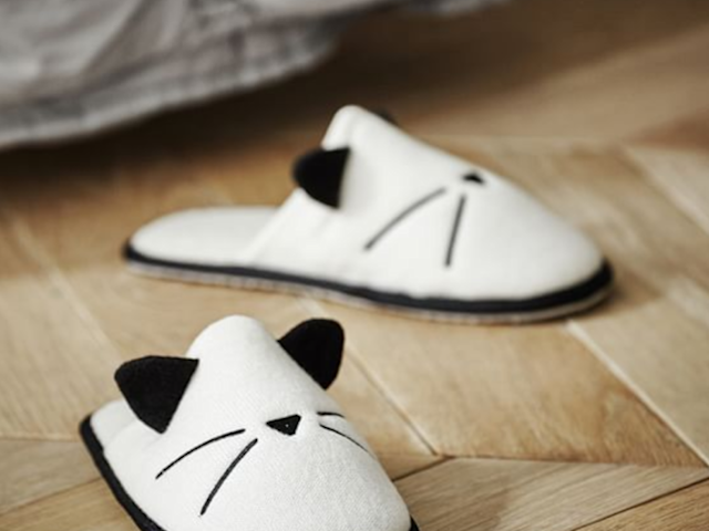 Emily & Meritt Cat Slippers