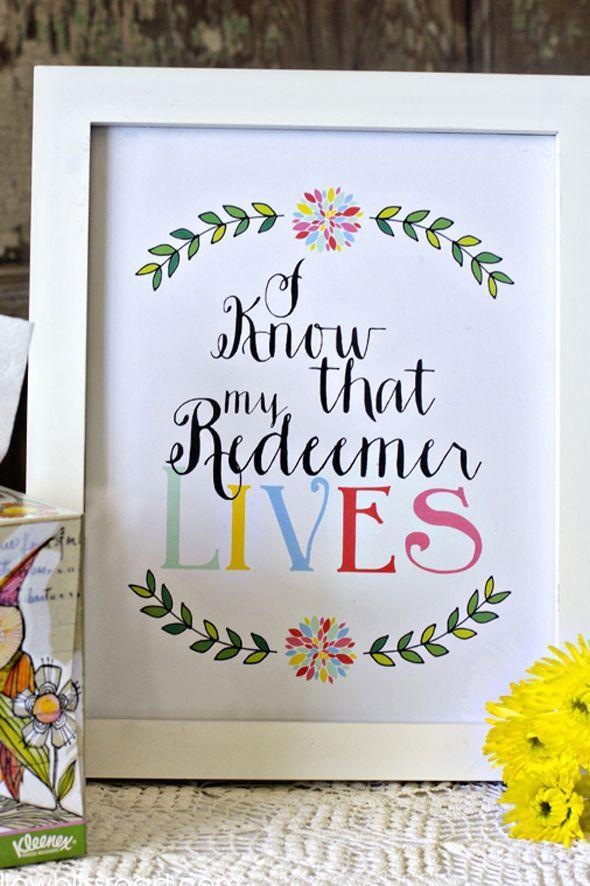 "<p>Grab this print-at-home Easter signage for free, throw in a frame, and you're done!</p><p> <strong>Get the tutorial at <a href=""http://www.yellowblissroad.com/free-printable-easter-redeemer-lives/"" rel=""nofollow noopener"" target=""_blank"" data-ylk=""slk:Yellow Bliss Road"" class=""link rapid-noclick-resp"">Yellow Bliss Road</a></strong>.<br></p>"
