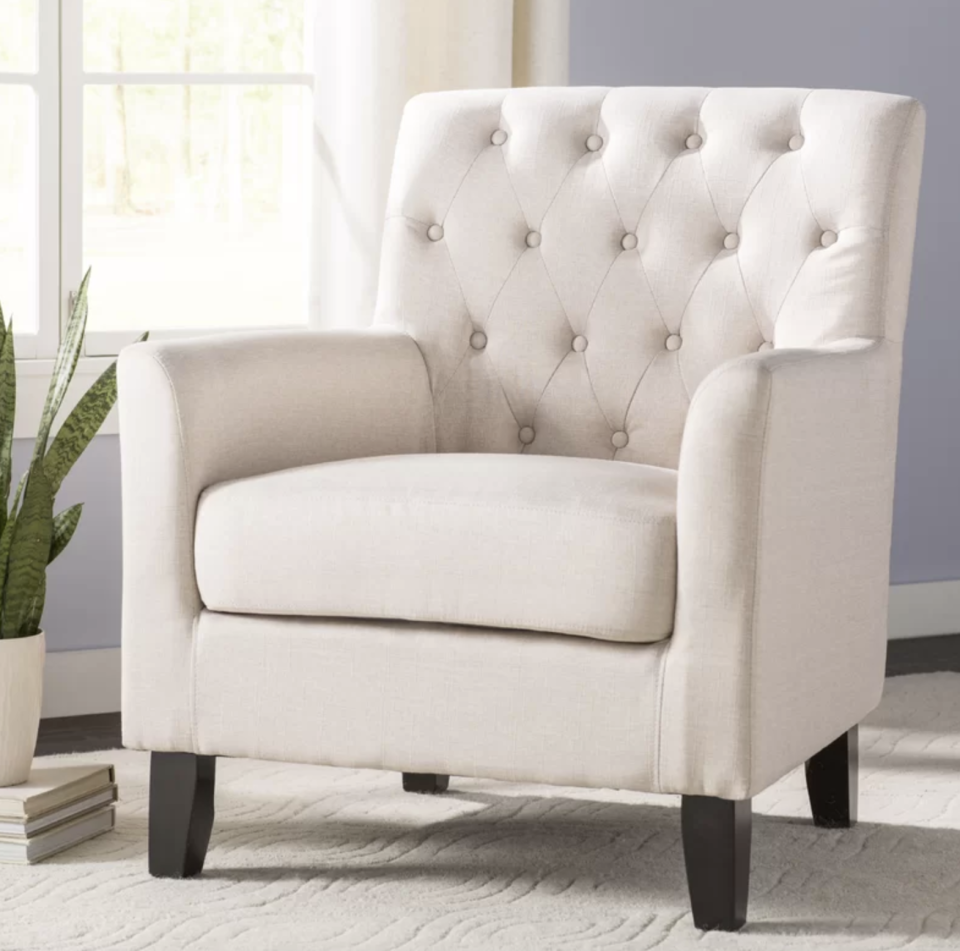 Your family is going to fight over who claims this chair on movie nights. (Photo: Wayfair)