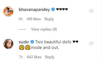 Ananya Panday and Suhana Khan