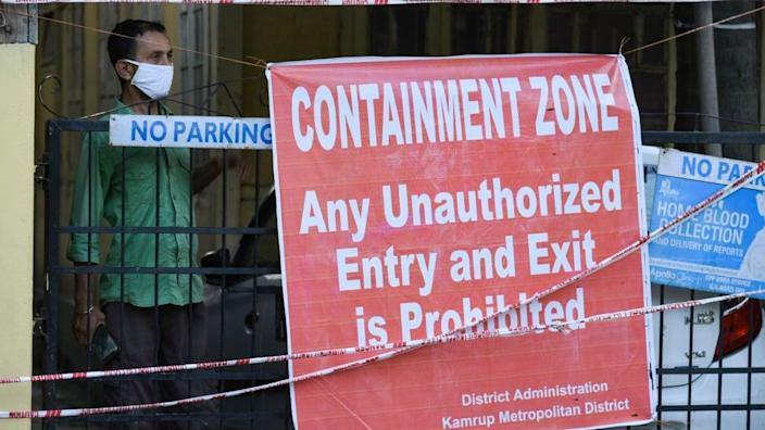 Many students say they live near containment zones which makes travelling risky for them