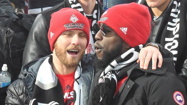 <p>'I've been partying since Saturday' - Jozy Altidore gives epic speech at Toronto FC's MLS Cup rally</p>