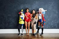 """<p>Just keep in mind <a href=""""https://www.popsugar.com/family/cdc-halloween-safety-guidelines-amid-pandemic-47814215"""" class=""""link rapid-noclick-resp"""" rel=""""nofollow noopener"""" target=""""_blank"""" data-ylk=""""slk:how to do it safely in person"""">how to do it safely in person</a>, or do it over Zoom!</p>"""