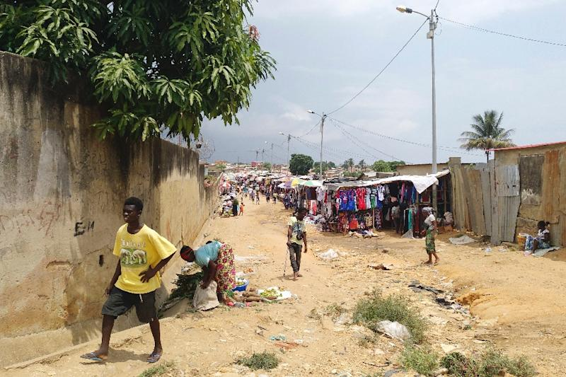 Residents are not convinced by President Joao Lourenco's promises to improve their living conditions (AFP Photo/Daniel GARELO PENSADOR)