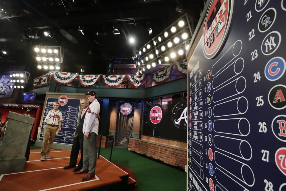 On his podcast this week, Ben Heisler proposed moving the draft to the All-Star Game. (AP)