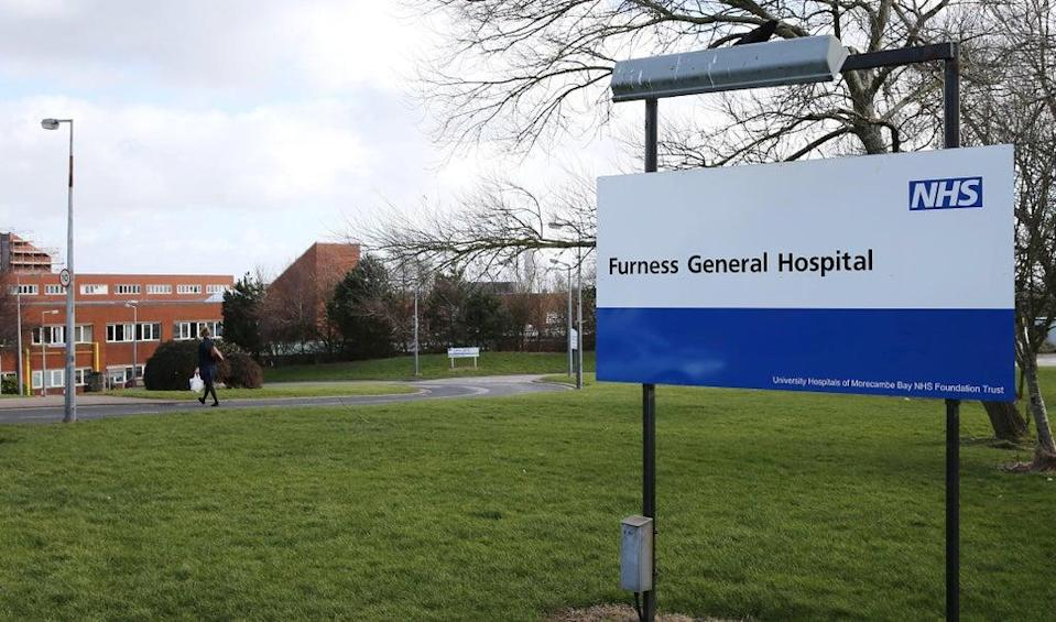 Furness General Hospital's maternity rating has been downgraded from good to inadequate (Peter Byrne/PA) (PA Archive)