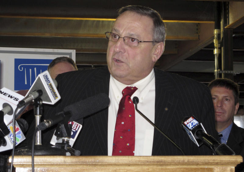 Maine governor unveils jobs-bonds plan