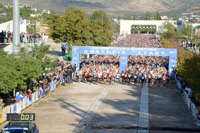 The Athens Classic Marathon - It was born out of the legend of a Greek soldier who ran non-stop from Marathonas to Athens to relay the message of their victory at the Battle of Marathon. The course is an uphill and downhill route that starts at Marathonas, passes through the city of Pallini and into Athens. Runners pass through some iconic landmarks such as the Marathon War Memorial, the Athens Music Hall, Agia Paraskevi Square and Panathinaiko Stadium, as well as a 10km slope.