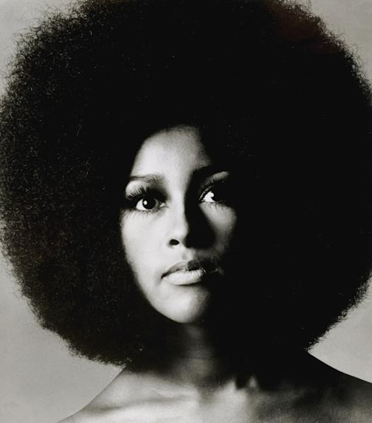 "This 1969 portrait made available by Sotheby's Saturday Nov. 10, 2012 shows American-born singer Marsha Hunt. Handwritten letters from Rolling Stones frontman Mick Jagger to his former lover Marsha Hunt will be auctioned in London next month. Hunt is an American-born singer who was the inspiration for the Stones' 1971 hit ""Brown Sugar"" and bore Jagger's first child. The auction house said Saturday Nov. 10, 2012 that the collection, which includes song lyrics and a Rolling Stones playlist, is expected to fetch between 70,000 and 100,000 pounds ($111,300 and $159,000) and will go under the hammer on December 12. (AP Photo/Sotheby's/Courtsey of Justin de Villeneuve)"